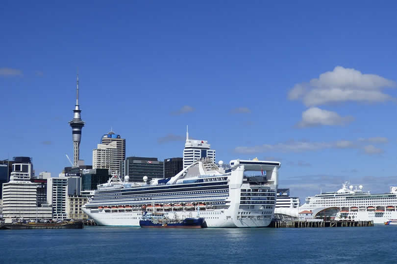 Port of Auckland cruise ship terminal