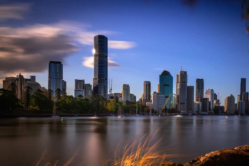 Brisbane CBD downtown