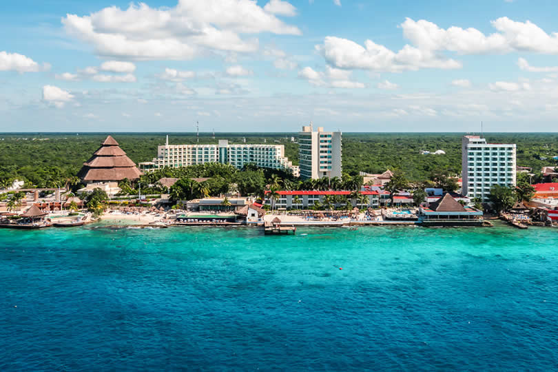Cozumel Cruise Port in Mexico
