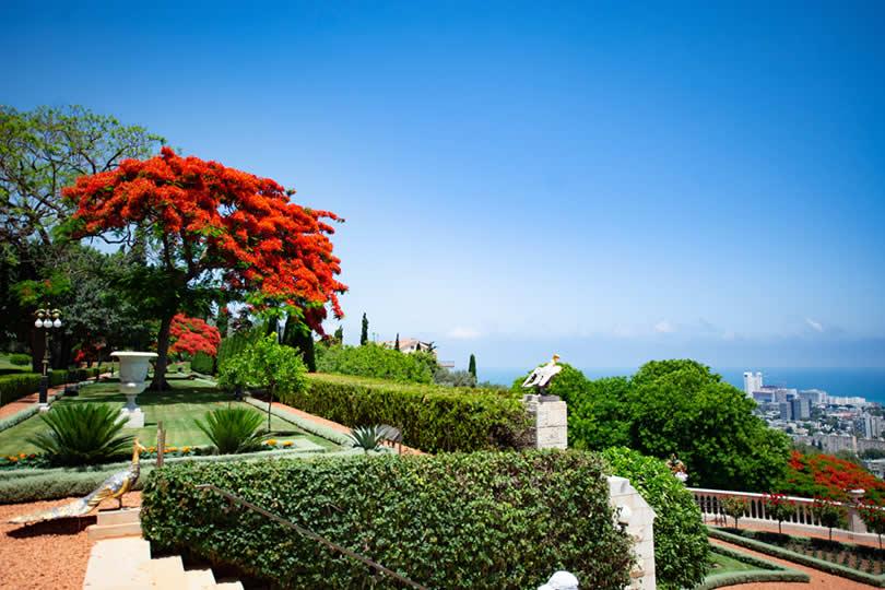 Haifa hanging gardens