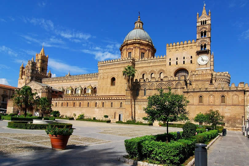 Palermo Cathedral Square