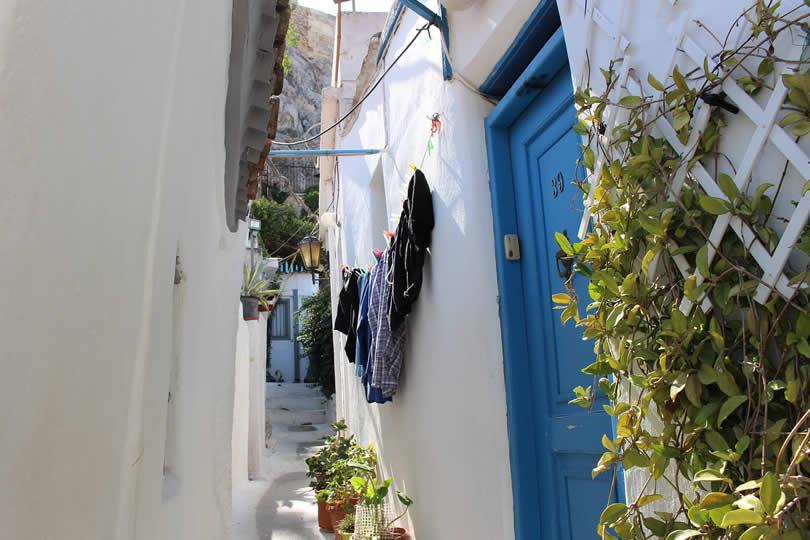 Plaka Old Greek house