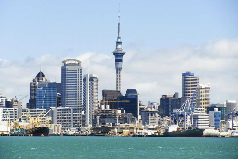 Auckland New Zealand port