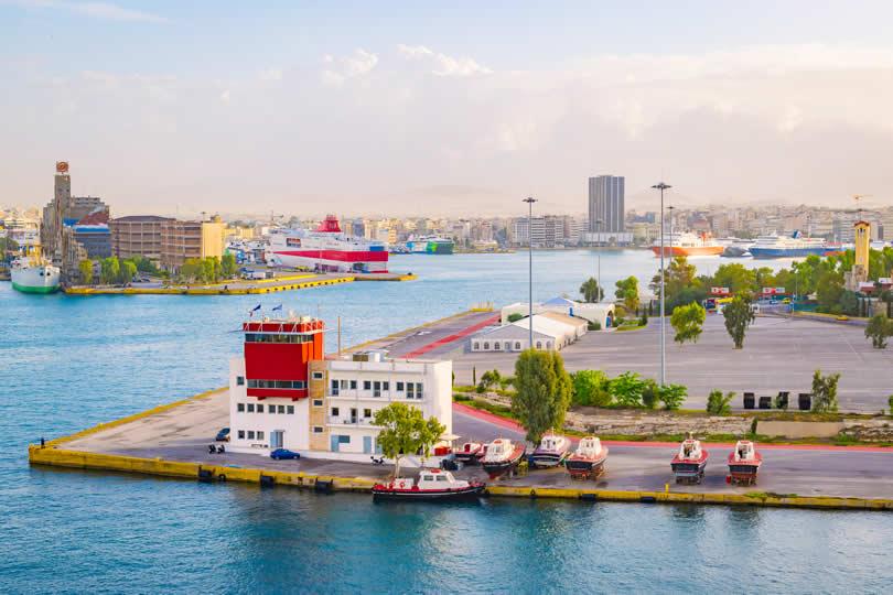 Port of Piraeus cruise and ferry