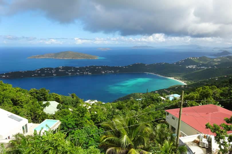 Saint Thomas view of Magens Bay