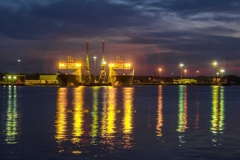 Southampton cruise docks