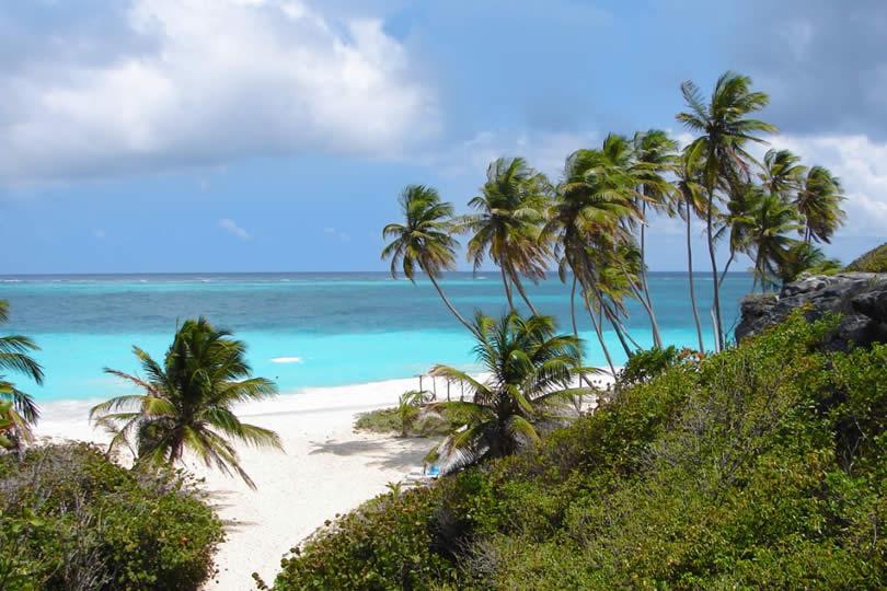 Bottom Bay Beach in Barbados