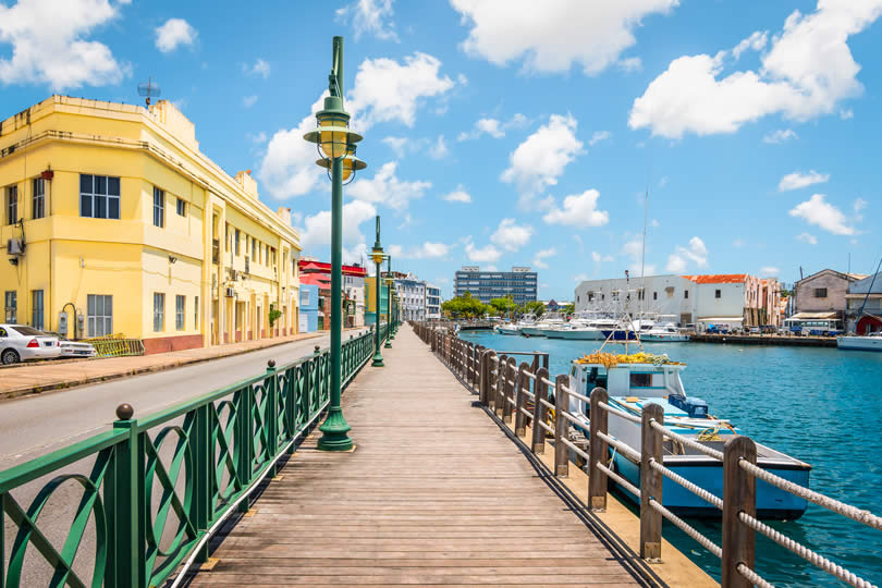 Bridgetown boardwalk
